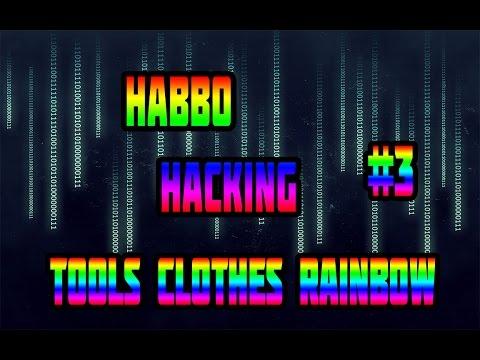 HABBO HACKING TOOLS CLOTHES RAINBOW #3 (Retro)