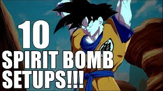 10 characters you probably didn't know can set up Spirit Bomb!!!