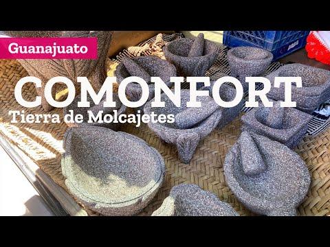 Comonfort Pueblo Mágico de Guanajuato, molcajetes, tortilla ceremonial y fábrica de Soria