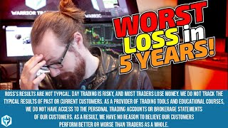 Worst Loss in 5 Years -$28K | Ross' Trade Recap