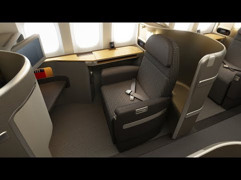 FIRST CLASS L 777-300 L Dallas - Hong Kong L American Airlines