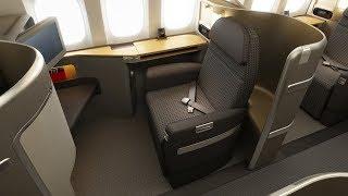 FIRST CLASS l 777-300 l Dallas - Hong Kong l American Airlines