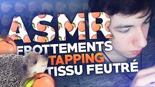 SARDOCHE ASMR - Tissu feutré, Tapping, Whisper - 30 minutes - French ASMR