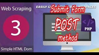Tutorial 3 Simple HTLM Dom Web Scraping Data by PHP submit POST method