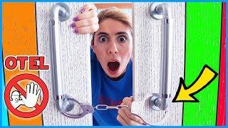 Odada Kilitli Kaldım Challenge Otel Odasından Kurtulma Eğlenceli Çocuk Videosu Dila Kent