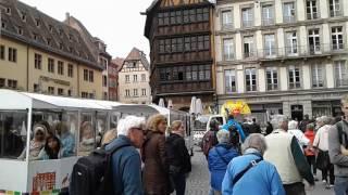 Франция.  Страсбургский собор(Страсбургский собор – это сочетание изящества и величия, красоты и монументальности. Несмотря на свои..., 2016-10-08T14:06:08.000Z)