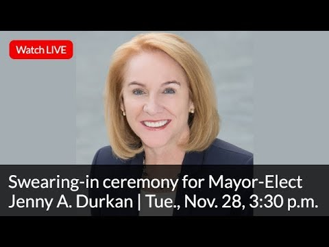 Swearing-in ceremony for Mayor-Elect Jenny A. Durkan