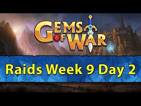 ⚔️ Gems of War Raids | Week 9 Day 2 | Raids with Skull Spam, Stun, and Devour ⚔️