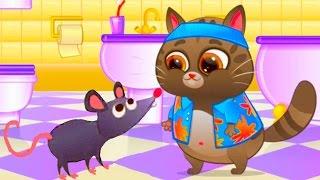 КОТЕНОК БУБУ #19 - Мой Виртуальный Котик - Bubbu My Virtual Pet игровой мультик для детей #ПУРУМЧАТА