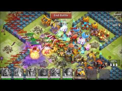 Guild Wars VS Patmas38 Russia French And German-League Castle Clash
