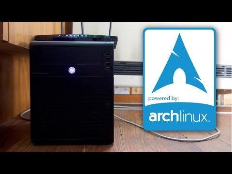 Arch on NAS follow-up: configuration changes and system upgrade