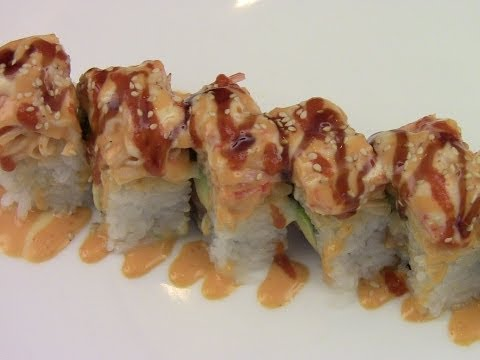 How To Make Volcano Roll Sushi