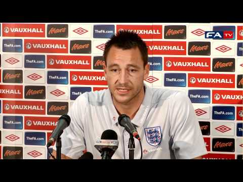 John Terry is playing with a smile on his face | England vs Switzerland 04/06/11