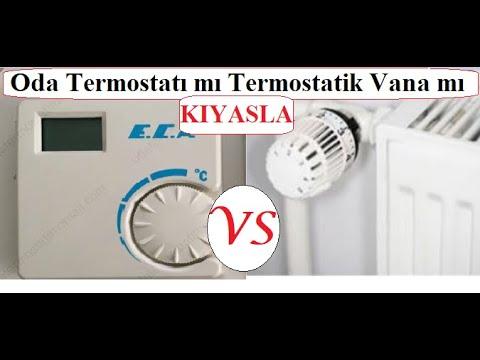 Termostatik Vana ne işe yarar, tasarruf sağlar mı, nasıl kullanılmalı?