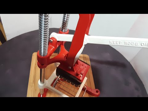Restoration: Rusty French fry cutter