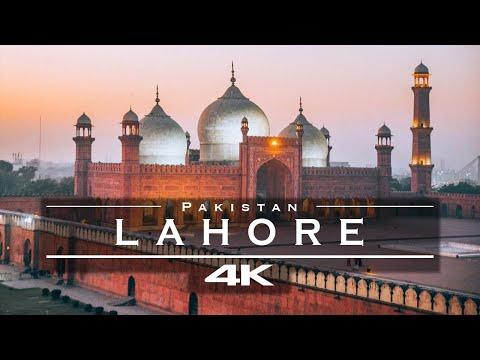 Lahore, Pakistan 🇵🇰 - by drone [4K]
