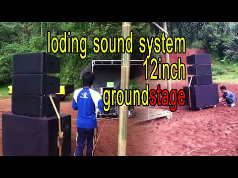 line array 12 inch pasif
