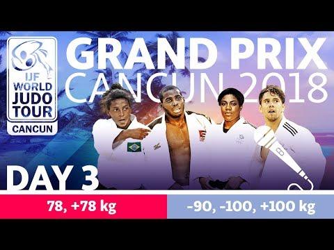 Judo Grand-Prix Cancun 2018: Day 3