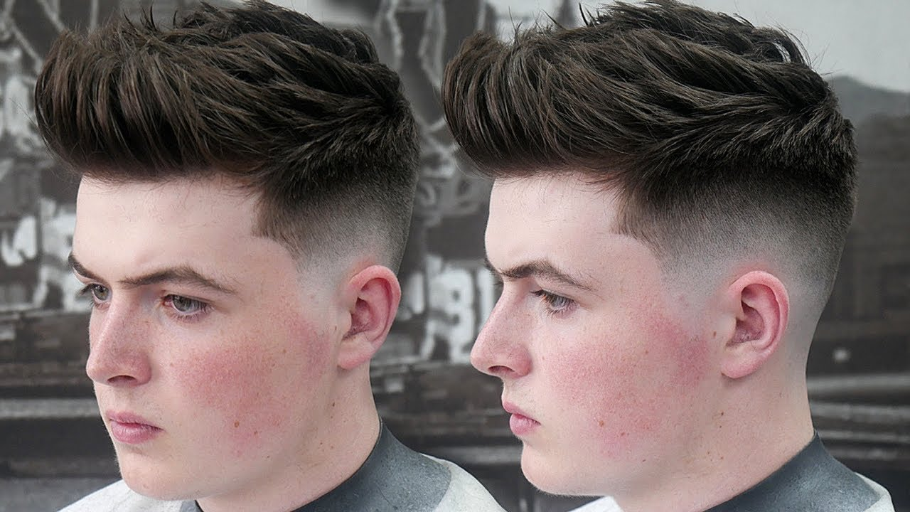 how to style male hair how to style a textured quiff s hairstyle 9263 | maxresdefault