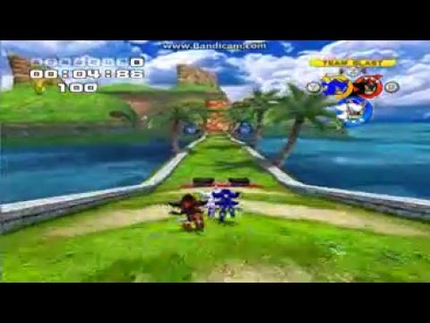 SONIC HEROES MODS (TEAM CHAOS MOD) CTRONIC. SHADOW AND CTROSHADE