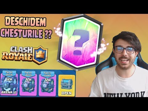 INCA MAI AM 4 CHESTURI LEGENDARE ?? Clash Royale Romania