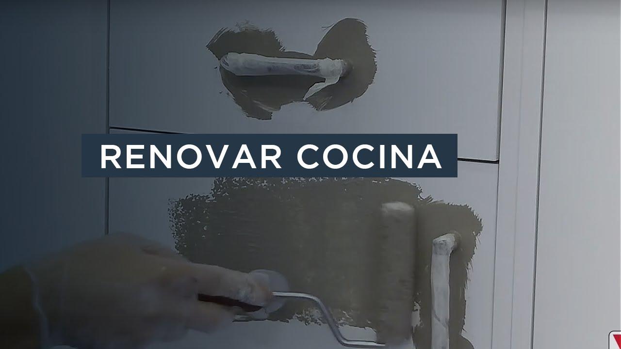 Paso a paso renovar cocina con v33 youtube - Renovar muebles de cocina ...