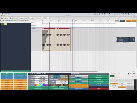 Tracktion 6 New Feature: Pitch-fade Walkthrough - Bill Edstrom