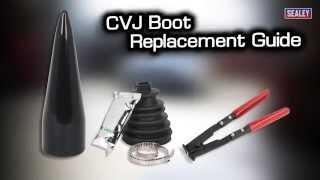 Скачать Sealey CVJ Boot Replacement Guide
