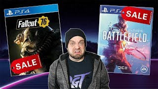 Fallout 76 and Battlefield 5 FLOPPED and Now HALF OFF! | RGT 85