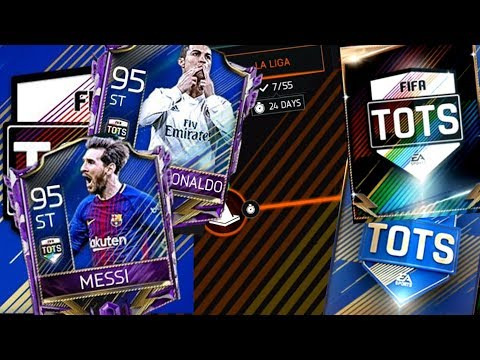 FIFA Mobile 18 La Liga TOTS Chain Packs! Guaranteed La Liga Master Pull!