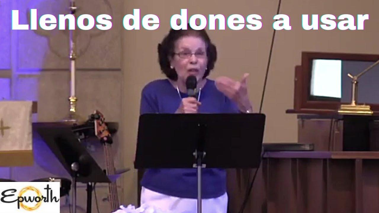 """"""" Amados, perdonados, renovados y llenos de dones a usar """" Epworth Productions Rev. Yolanda 25/7/21"""
