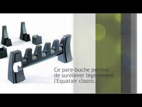 kit d co pour r cup rateur de chaleur equatair vivre youtube. Black Bedroom Furniture Sets. Home Design Ideas