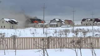 Пожар в Протасово