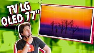 A NOVA TV OLED C9 DE 77 POLEGADAS DA LG!