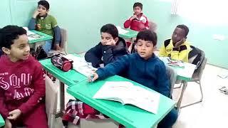 أ محمد صبري ودرس نموذجي في مادة الاجتماعيات للصف الرابع بمدارس الرواد ببريدة
