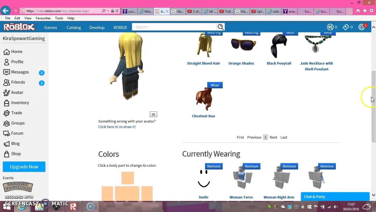 How To Change Your Roblox Character Youtube