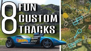 Simple, Tricky or Chaotic? | Forza Horizon 4 | 8 Custom Route Creator Races