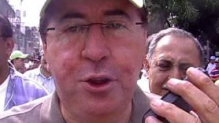 Gobernador César Alejandro Pérez Vivas a través de NOTISAN desde San Antonio del Estado Táchira