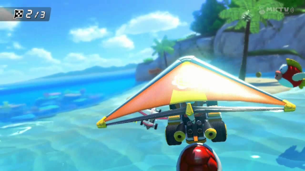 Baby Mario Mario Kart 8: (DS) Cheep-Cheep Bay [Baby Daisy