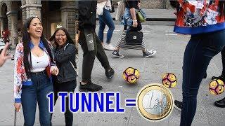 VINCI 1 EURO per ogni tunnel che fai alle RAGAZZE!