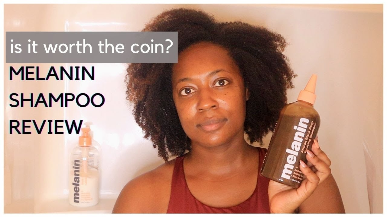Review Melanin Haircare African Black Soap Reviving Shampoo Does It Work Youtube