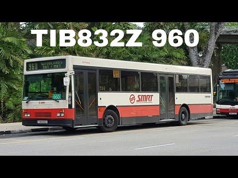 (FULL RIDE) Mercedes Benz Hispano Carrocera OAC TIB832Z on Service 960
