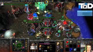Warcraft III #839 - 120 Human vs Undead (Turtle Rock)
