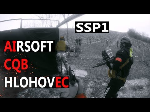 AIRSOFT  CQB  HLOHOVEC 🔻 Gameplay NORO SSP1