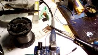 видео Управляем шаговым двигателем с помощью Arduino