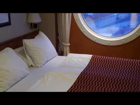 Color Line Color Magic Cruise Ship Kiel to Oslo Cabin