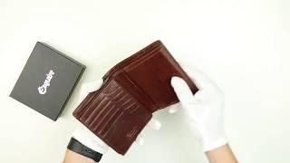 Обзор портмоне из натуральной кожи от бренда ESQUIRE (эсквайр)