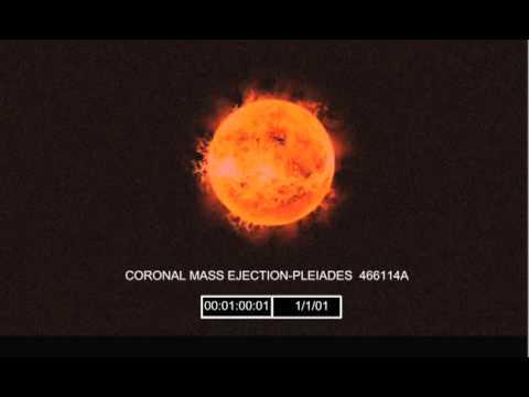 Solar flare destroys earth