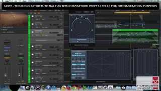 Upmixing Stereo To 5.1 Surround Sound In Logic Pro X