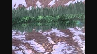 Видео 5 части 16, как рисовать горы и озеро с акрилом(Как рисовать горы и озеро с акрилом на холсте. В этом видео я объяснить каждый шаг живопись процесс скалы,..., 2011-08-28T18:29:04.000Z)